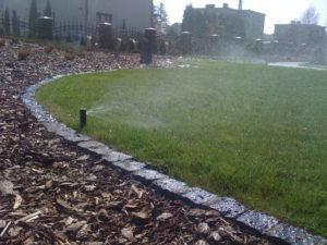 systemy nawadniania - Zraszacze w trawniku